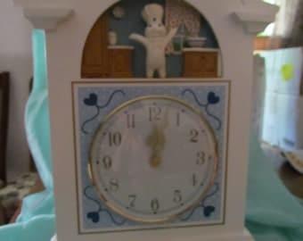 Pillsbury Doughboy Clock