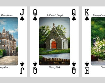 Irish Playing Cards, An Artist View