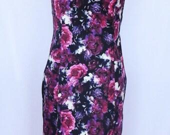 SALE - Rich Floral Dress Size 12