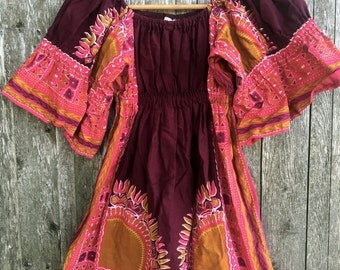 hippie chick mini dress