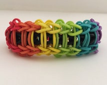 Rainbow Ladder Rainbow Loom Bracelet Party Favors Gifts And More