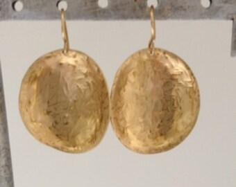Anti-clas Brass Pattern Earrings
