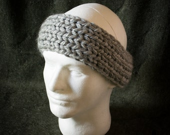 Light Grey Sparkle Headband