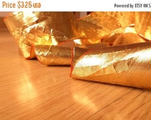 15% SALE 2 yard Gold Gota Lace, Gota Patti, Gota trim, Golden Colour lace, Golden color trim, decorative ribbon