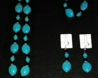 Hand crafted jewelry set