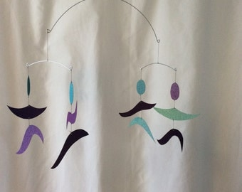 The Dancers - a Montessori Mobile