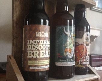 Pallet Wood Beer/Wine Rack