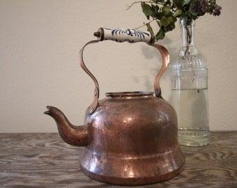 Copper Tea Kettle #16
