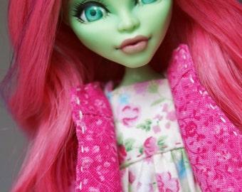 OOAK Custom Monster High Venus McflyTrap doll