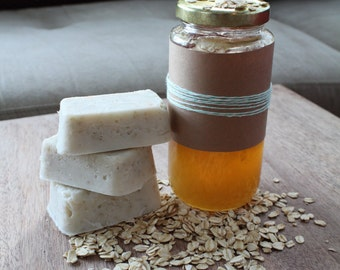 Honey & Oatmeal Soap - Made with lots of love