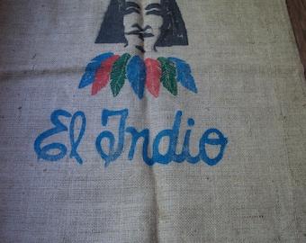 Vintage Cafe De Costa Rica Coffee Sack