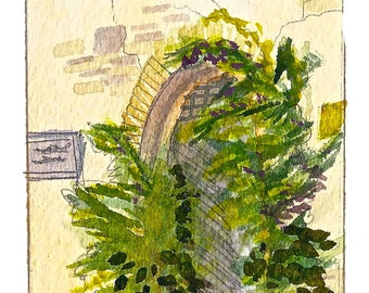 Siena 2011 Watercolor 3x4