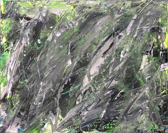 Klif - Small Abstract Painting by Teddy Engel