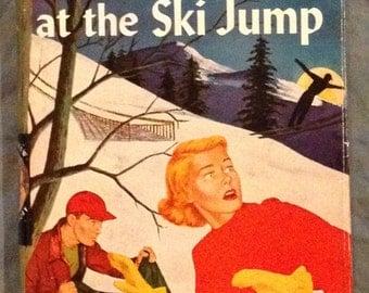 Nancy Drew - The Mystery at the Ski Jump by Carolyn Keene in Dust Jacket. Earlier Printing