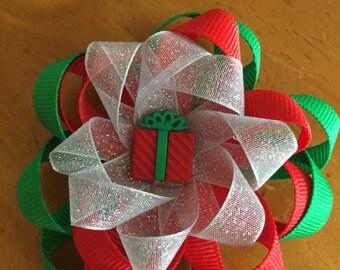 Christmas present bow