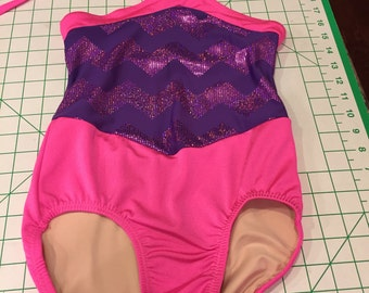 Custom dance Leotard size Child medium