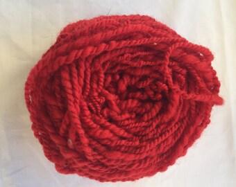 Hand spun merino wool yarn