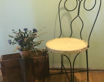 Vintage Ice Cream Parlor Chair LOCAL PICKUP ONLY