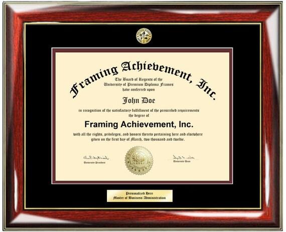 Graduation Diploma Frame University Certificate Framing