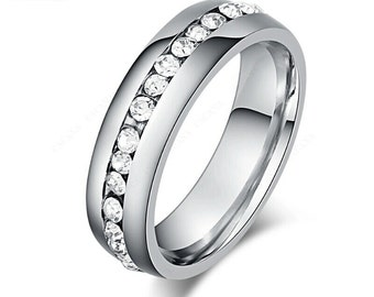 Platinum & Diamonds Eternity Ring