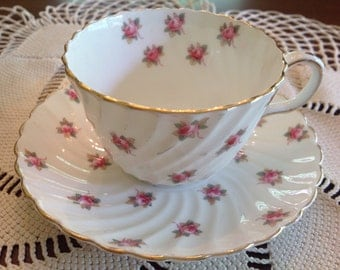 Aynsley teacup and saucer.