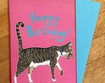 Mr. Wigglepants Birthday Card