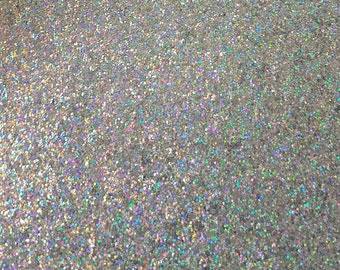 """A4 sheet of """"Disco Ball"""" holographic irridescent chunky glitter"""