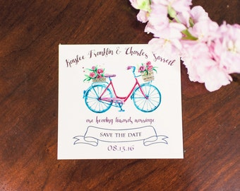 Bicycle Save the Date (starting at 1.71 ea)