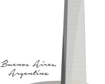 Digital Download of Obelisco de Buenos Aires