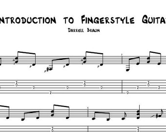 An Introduction to Fingerstyle Guitar - Guitar Lesson