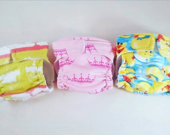 Waterproof diapers baby Alive doll cloth diapers high quality quick dry reusable