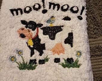 Cow Towel