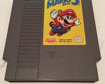 Vintage Nintendo Super Mario Bros 3