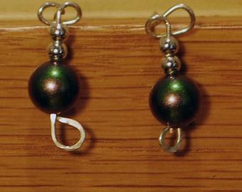 KCE-6029 - Swarovski Glass Pearl Earrings