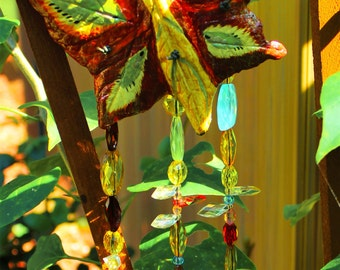 Sun Catcher, Wind Chime, Butterfly, Leaf Cast Casting!