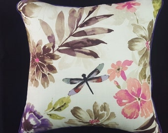 Bloom Flower Pink Cushion Cover