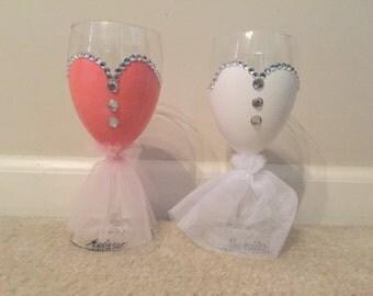 Dress Wine Glasses