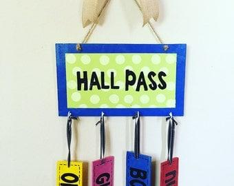 Hall Pass Wall Hanger