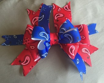 Bandanna Hair Bow