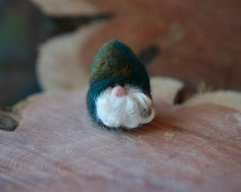 Needle Felted Gnome, Nature gnome, Forest Gnome, Nature Table, Natural Toy Gnome, Waldorf inspired, A Gnome for Every Home