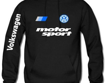 VW motorsport  sweatshirt best quality unisex hoodie all colors all sizes Shipping free accept returns