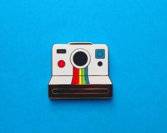 Polaroid Camera Lapel Pin