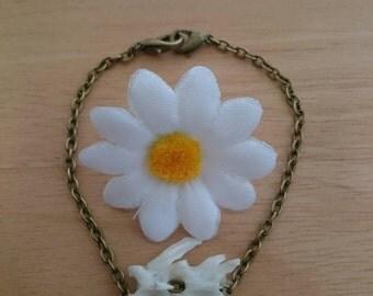 Bone bracelet: Ethically sourced squirrel spine bracelet