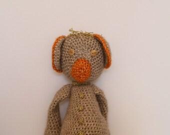 Doudou - doudou made crochet