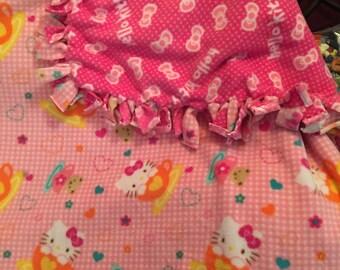 Pink Hello Kitty Fleece
