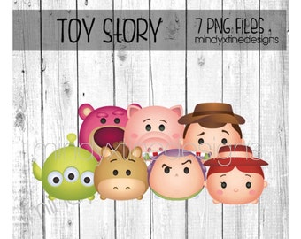 Toy Story Tsum Tsum Clipart