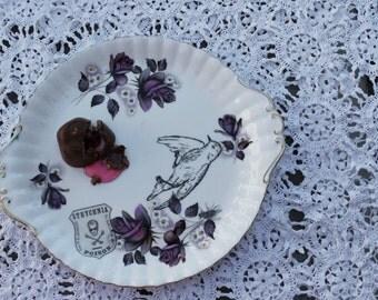 Strychnia Dead Bird Platter