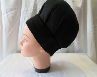 Bariton, Adjustable Volumizer, Anti Slip, Jewish Head Covering, Under Head Scarf,Hair Snood, Hair Cover, Snood Great underTichel, Big Bobo