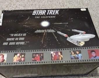 Vintage Telemania Star Trek USS Enterprise Telephone