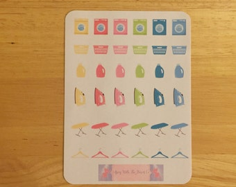Laundry Day Sticker Sheet